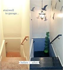 Stairwell Decorating Basement Stairwell Decorating Ideas