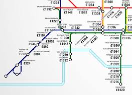 Cheap Rent London Flats One Bedroom This Tube Map Shows The Average Rent Costs Near Every Underground