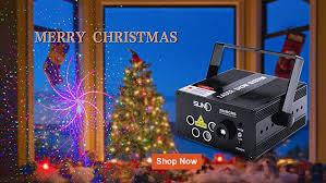 christmas tree laser lights amazon com party laser lights suny professional green blue laser