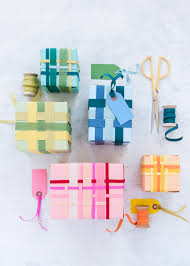 gift wrapping ribbon ribbon weaving gift wrap the house that lars built