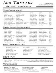 modern resume formats 2015 gmc movie theater resume film resume format us movie theatre manager