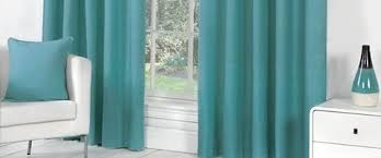 Whitworth Duck Egg Lined Curtains Duck Egg Pencil Pleat Ready Made Curtains