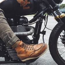 mc riding boots a good pair of boots u003d a good ride my red wing 875 is one of my