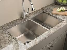 Stainless Steel Sink With Bronze Faucet Faucet Bronze Faucets Two Handle Kitchen Faucet Kitchen Sink