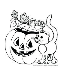 free coloring pages of a pumpkin free coloring pages pumpkins pumpkin kitten coloring pages x