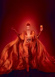 campari art milla jovovich in campari u0027s album red passion pinterest