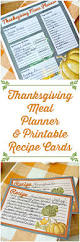 thanksgiving picture cards printable thanksgiving meal planner and recipe cards mom 4 real
