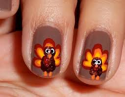 9 easy thanksgiving nail designs with images thanksgiving