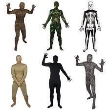 halloween full body suit wicked skinz costume lycra spandex full body sock suit halloween