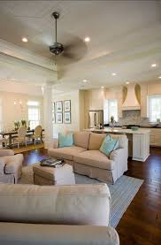 Kitchen Sitting Room Ideas Open Concept With The Kitchen Living Room And Dining Room All