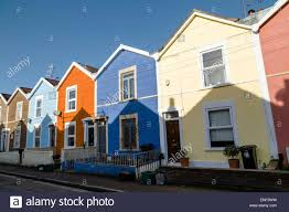 Painted Houses Colorful Bristol Homes Stock Photos U0026 Colorful Bristol Homes Stock