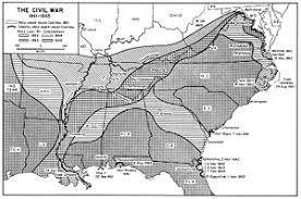 map us states during civil war american civil war