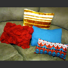 Upcycled Pillows - upcycle april does that