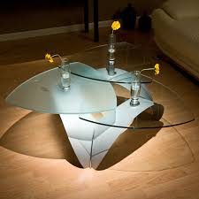 Glass Coffee Tables by Steal These 13 Ideas Of Triangle Glass Coffee Table For Your