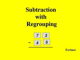 99 best subtraction regrouping images on pinterest subtraction