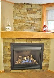 stone veneer fireplace interior design