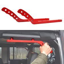 2009 jeep wrangler x accessories rear aluminum grab handles for jeep wrangler jk jku