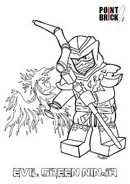 ninjago ghost army coloring pages