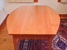 handmade shaker drop leaf harvest dining table hawk ridge furniture
