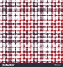 pixel fabric texture check plaid tablecloth stock vector 609477245