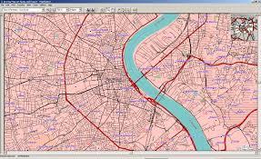 Bordeaux France Map by Elfshot Open Street Maps For Garmin Gps