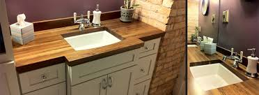 Walnut Vanity Residential Interior Vanity Wood From The Hood