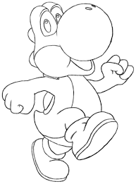 yoshi coloring pages coloringsuite com