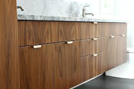 Bathroom Vanity Hardware by Bathroom Reno Update Mid Century Modern Inspired Cabinet Pulls