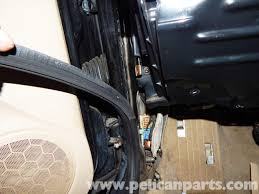 Exterior Door Seal Replacement Volkswagen Jetta Mkiv Front Door Seal Replacement 1999 2005