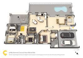 The Warren Floor Plan by 32 Mountain View Crescent Mount Warren Park Qld 4207 Coronis