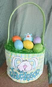 painted easter baskets handpainted bushel baskets for by freckledfrogdesigns