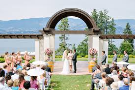 wedding arch kelowna kelowna winery wedding diane justin