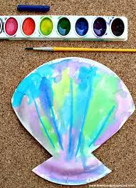 Seashell Craft Ideas For Kids - 123 best preschool ocean theme crafts images on pinterest