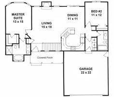 2 bedroom ranch floor plans plan 1091 ranch floor plan added note i this