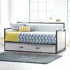 Daybed With Trundle And Mattress Size Day Bed Daybed Frame Pop Up Trundle Mattresses Metal