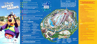 Blizzard Beach Map Index Of Maps Wdw Parks 2011 10