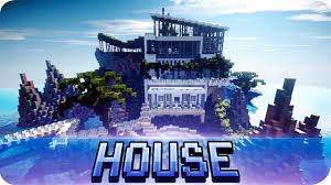 Modern Hosue by Minecraft Modern House On The Sea Map With Download Youtube