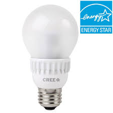 60w led light bulb cree 60w equivalent soft white 2700k a19 dimmable led light bulb