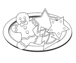 Printable Christmas Coloring Pages Coloring Cookies