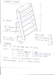 Ladder Bookcase White by Make A Leaning Ladder