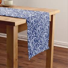 blue and white table runner blue and white table runners zazzle