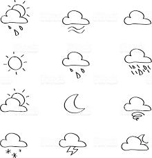 weather sketches iconset stock vector art 174172864 istock