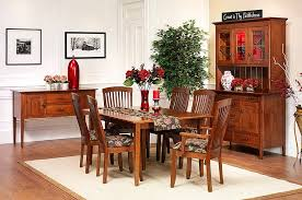 Shaker Dining Room Chairs The Amish Home Furniture Gallery Newport Shaker Dining Room Furniture