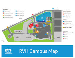 general information please refer to the rvh campus map