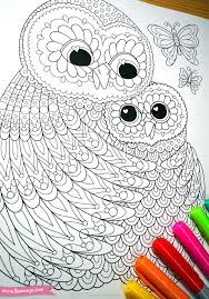 owls coloring page from thaneeya mcardle u0027s power of love coloring