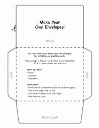 how to make your own envelope make your own envelopes worksheet education com