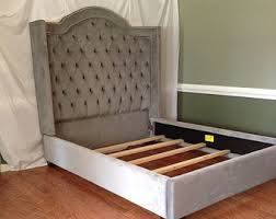 Custom Bed Headboards Upholstered Bed Etsy