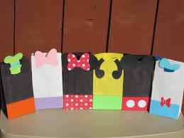 mickey mouse gift bags 46 mickey goody bags 31 best images about minnie and mickey party