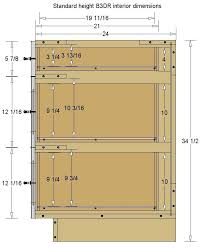 standard height of kitchen base cabinets base cabinets widths standard size page 5 line 17qq