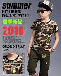 army soldier boys fancy dress military commando uniform kids